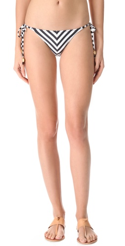 Shop PilyQ Viceroy Tie Side Bikini Bottoms and PilyQ online - Apparel, Womens, Swim, Swim,  online Store