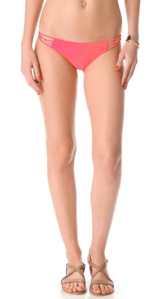 PilyQ Braided Bikini Bottoms