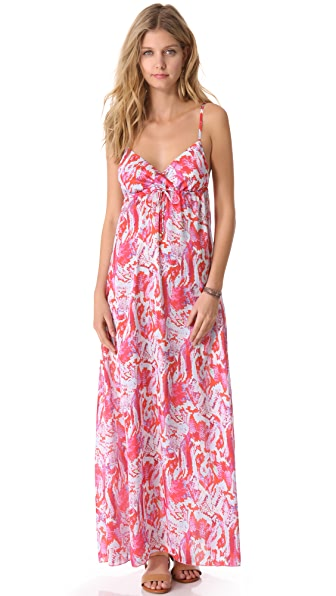 PilyQ Kyla Cover Up Maxi Dress