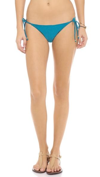 PilyQ Tourmaline Bikini Bottoms