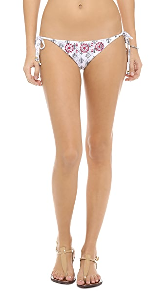 PilyQ Brigitte Batik Bikini Bottoms