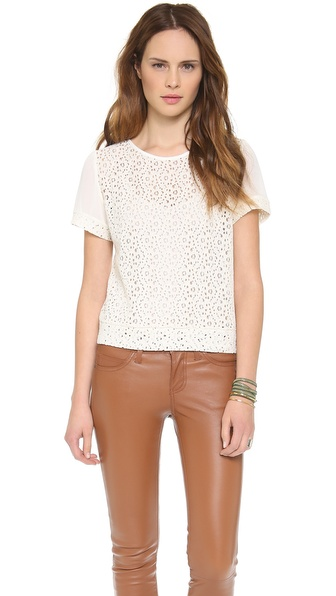 Piper Gore Halo Salome Lace Top