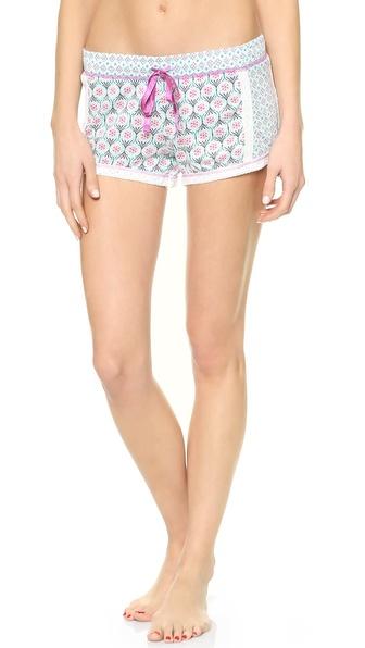 PJ LUXE Summer Tile PJ Shorts
