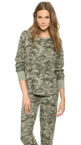 PJ LUXE PJ Salvage Army Top