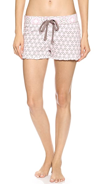 PJ LUXE PJ Salvage Print Princess Shorts