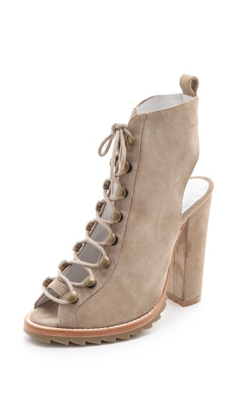 Plomo Joannie Suede Booties