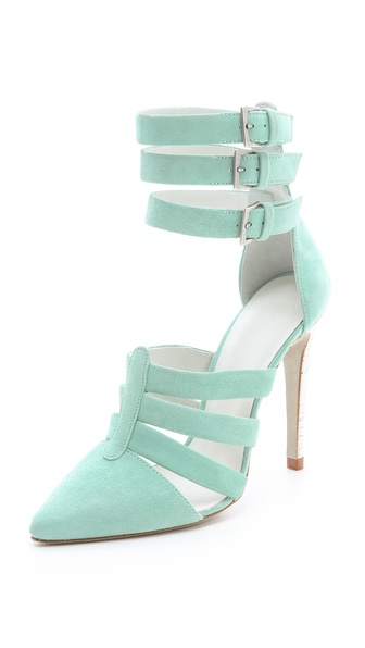 Plomo Katerina Suede Pumps from shopbop.com
