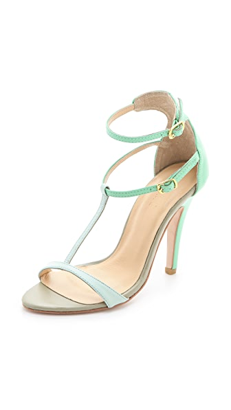 Plomo Liliana Tonal Colorblock Sandals