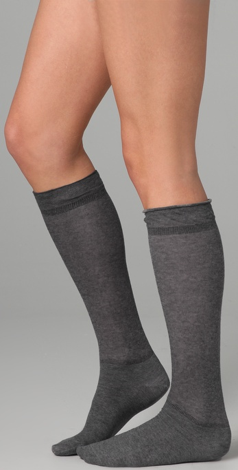 Plush Sheer Socks