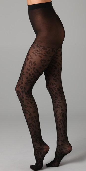 Plush Cheetah Tights