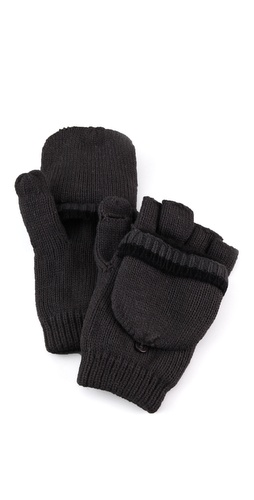Plush Fleece Lined Texting Mittens at Shopbop.com