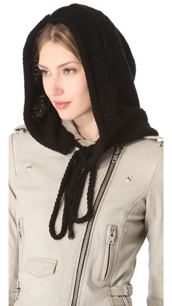 Plush Knit Hood