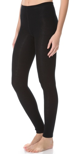Plush Knit Fleece Lined Footless Tights