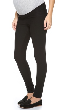 Plush Fleece Maternity Leggings