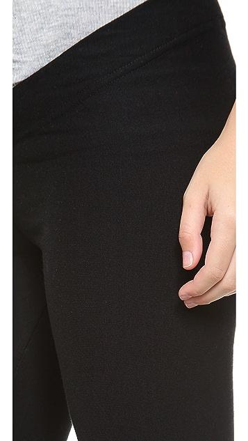 Plush 绒布孕妇装贴腿裤