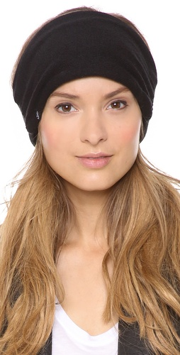 Plush Fleece Lined Knit Headband at Shopbop / East Dane