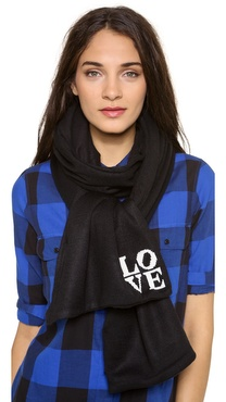 Plush Love Scarf