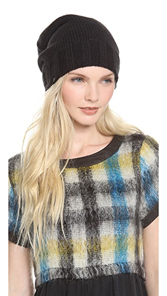 Plush Slouchy Knit Beanie