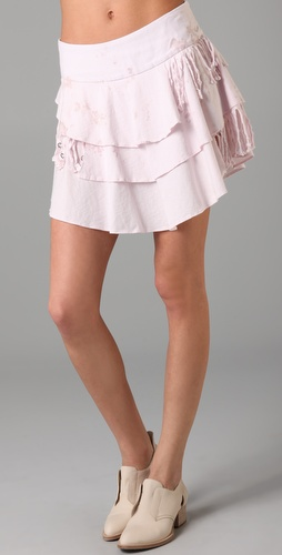 Pencey Tiered Skirt