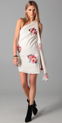 Pencey Draped Dress