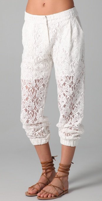 Pencey Lace Pants