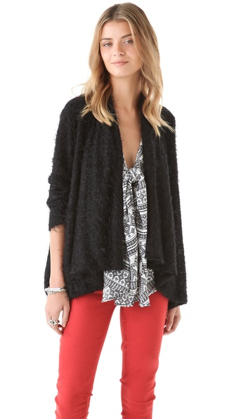 Pencey Draped Knit Cardigan
