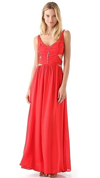 Pencey Cutout Long Dress