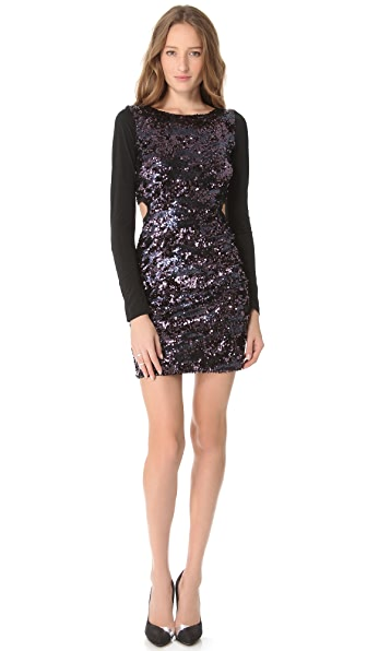 Pencey Open Back Sequin Dress