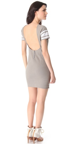 Pencey U Back Denim Dress