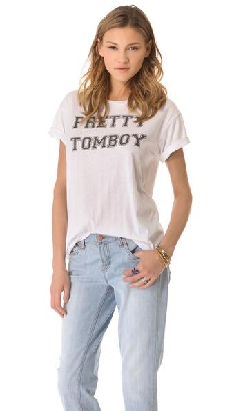 Pencey Pretty Tomboy Tee