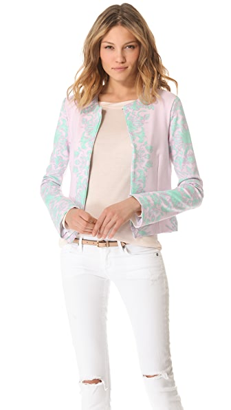 Pencey Reflected Floral Cocktail Jacket