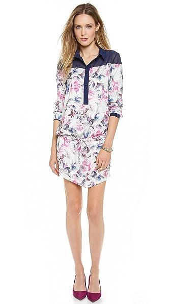 Pencey Karolina Floral Shirt Dress