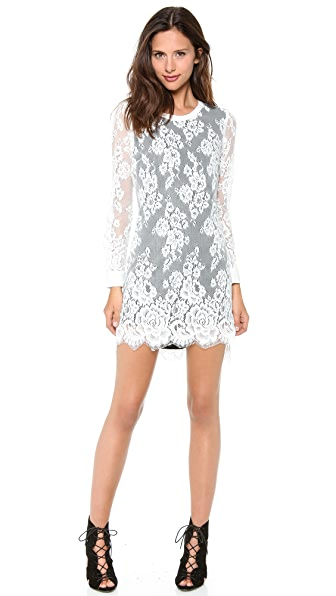 Pencey Lace Shift Dress