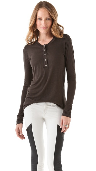 Pencey Standard Long Sleeve Henley