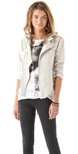 Pencey Standard French Terry Moto Jacket / Vest