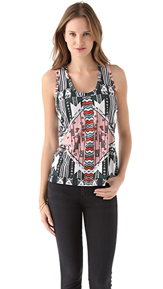 Pencey Standard Henley Tank by Jessica Hart for Pencey Standard
