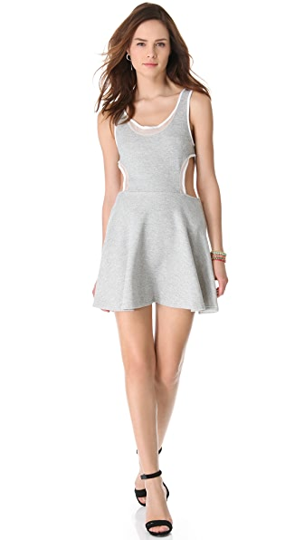 Standard Standard Inset Mini Dress (Grey)