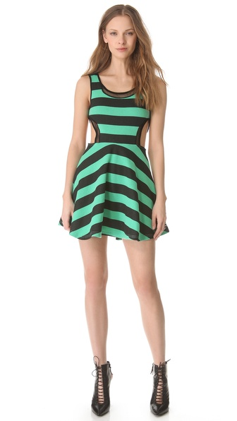 Pencey Standard Inset Flare Mini Dress