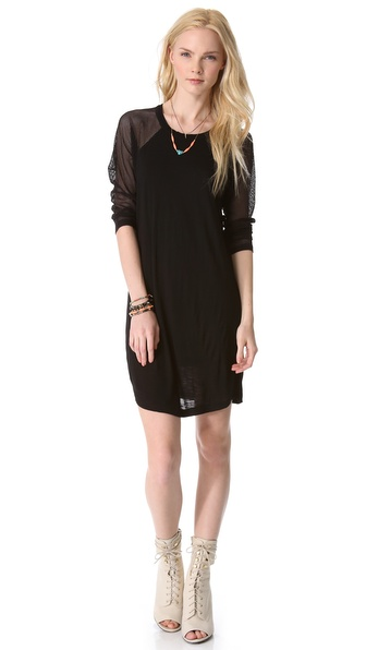 Pencey Standard Baseball Mini Dress
