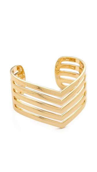 Paige Novick 5 Row Pointed Cuff Bracelet