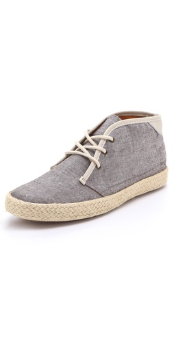 Pointer KC Lace Up Chambray Sneakers