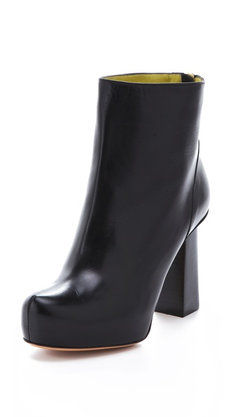 Pollini Strong Heel Booties