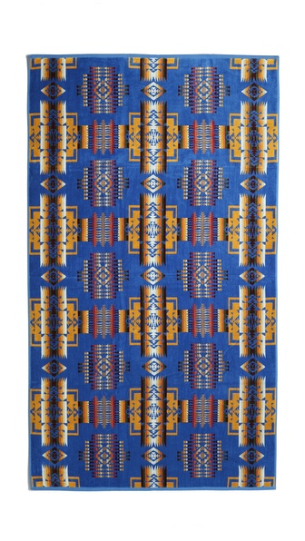 Pendleton, The Portland Collection Chief Joseph Towel - Denim at Shopbop