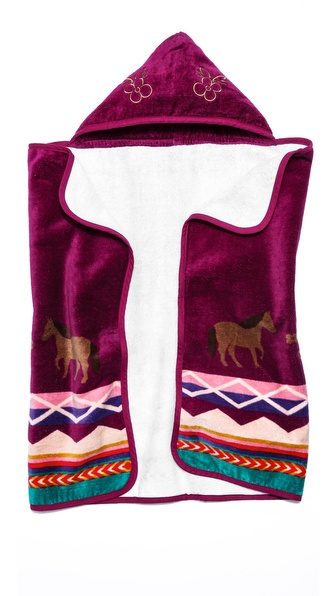 Pendleton, The Portland Collection Painted Pony Kids Hooded Towel