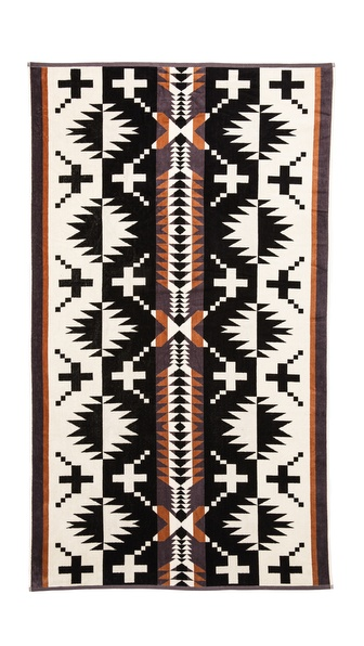 Pendleton, The Portland Collection Spider Rock Oversized Jacquard Towel