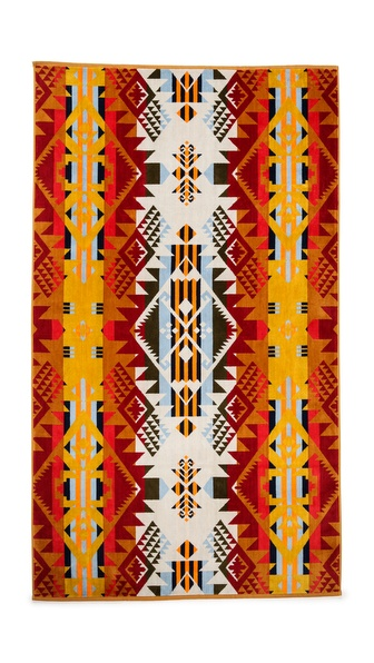 Pendleton, The Portland Collection Oversized Jacquard Towel