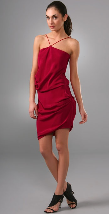 Prabal Gurung Side Ruched Dress