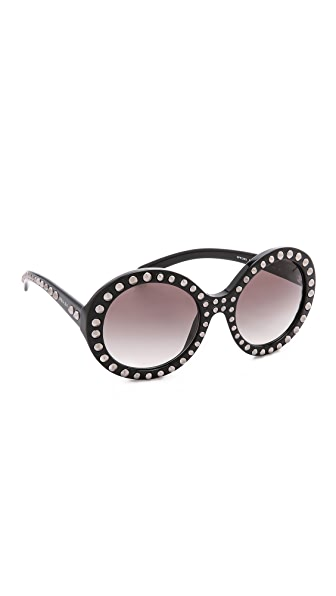 Prada Prada Studded Sunglasses (Multicolor)