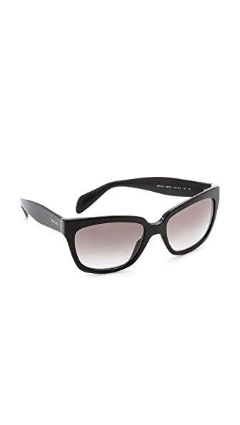Prada Prada Square Sunglasses (Multicolor)