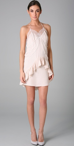 Preen Bardot Slip Dress